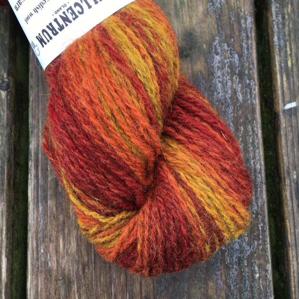 Gradient Ullcentrum  2ply - Flame
